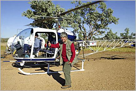 Dr. Ellen in outback Australia