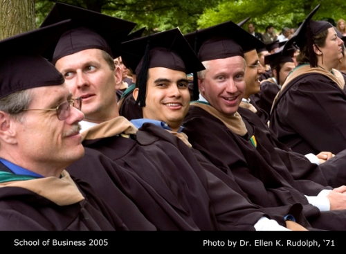 W&M School of Business Graduation 2005